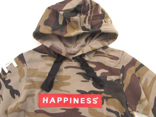 HAPPINESS-FELPA-APERTA-CAPPUCCIO-BAMBINO-AUTUNNO-INVERNO-8-10-12-14-ANNI-172867973692