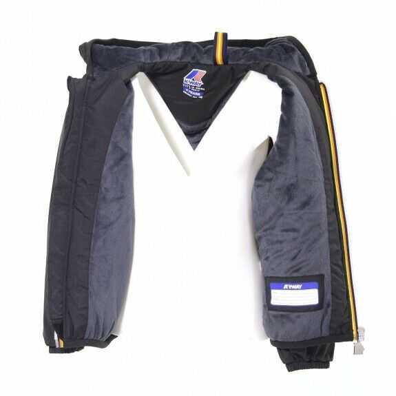 k-way giacca jacques ripstop marmotta nero