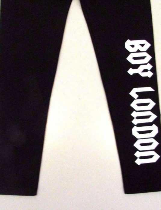 BOY-LONDON-LEGGINGS-BAMBINA-AUTUNNO-INVERNO-8-10-12-14-16-ANNI-182680657929-4