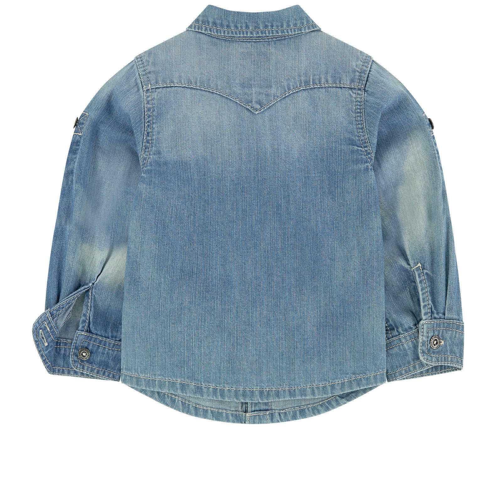 designer fashion 722b8 baa41 LEVI'S CAMICIA JEANS BAMBINO NUOVI ARRIVI AUTUNNO INVERNO 6 12 18 24 MESI